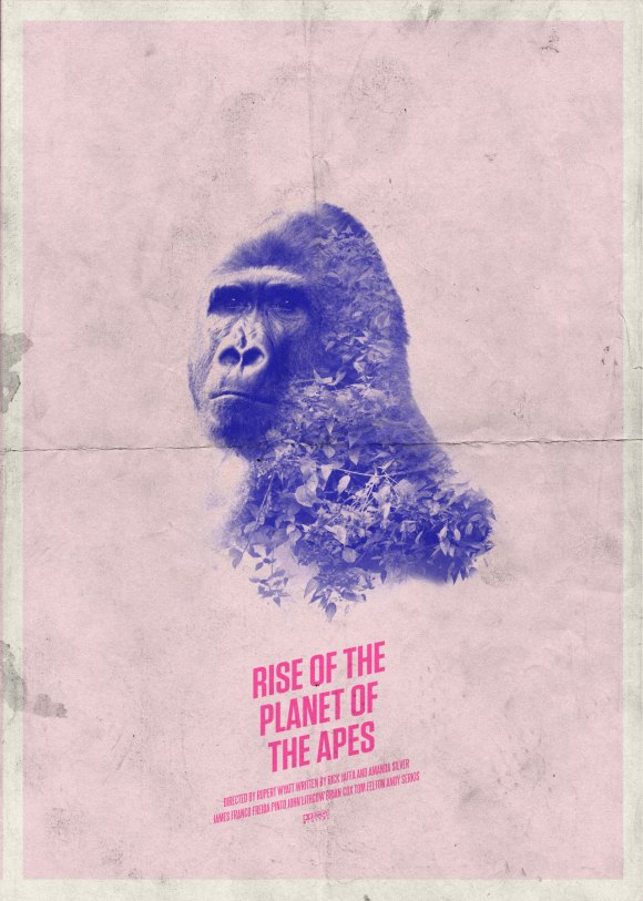 Day 99 of 365 – Rise Of The Planet Of The Apes #amovieposteraday
