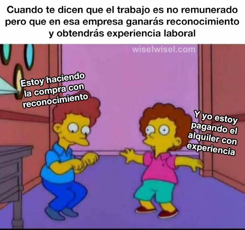 Reconocimiento y experiencia laboral