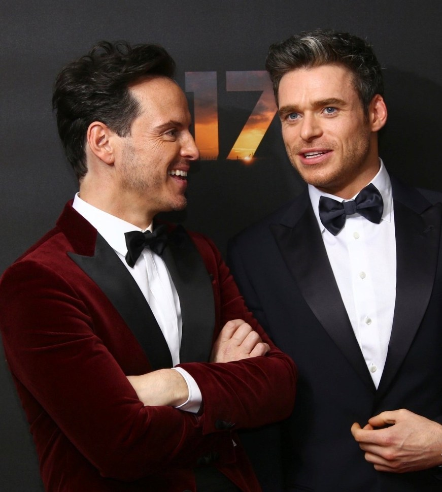 Richard Madden — The cast of 1917 at the London Premiere