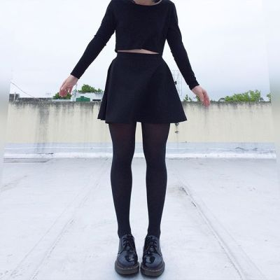 all black outfit tumblr