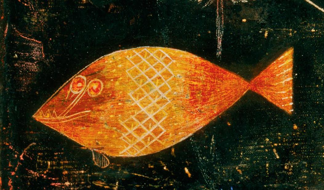 Design is fine History is mine  Paul Klee Fish Magic