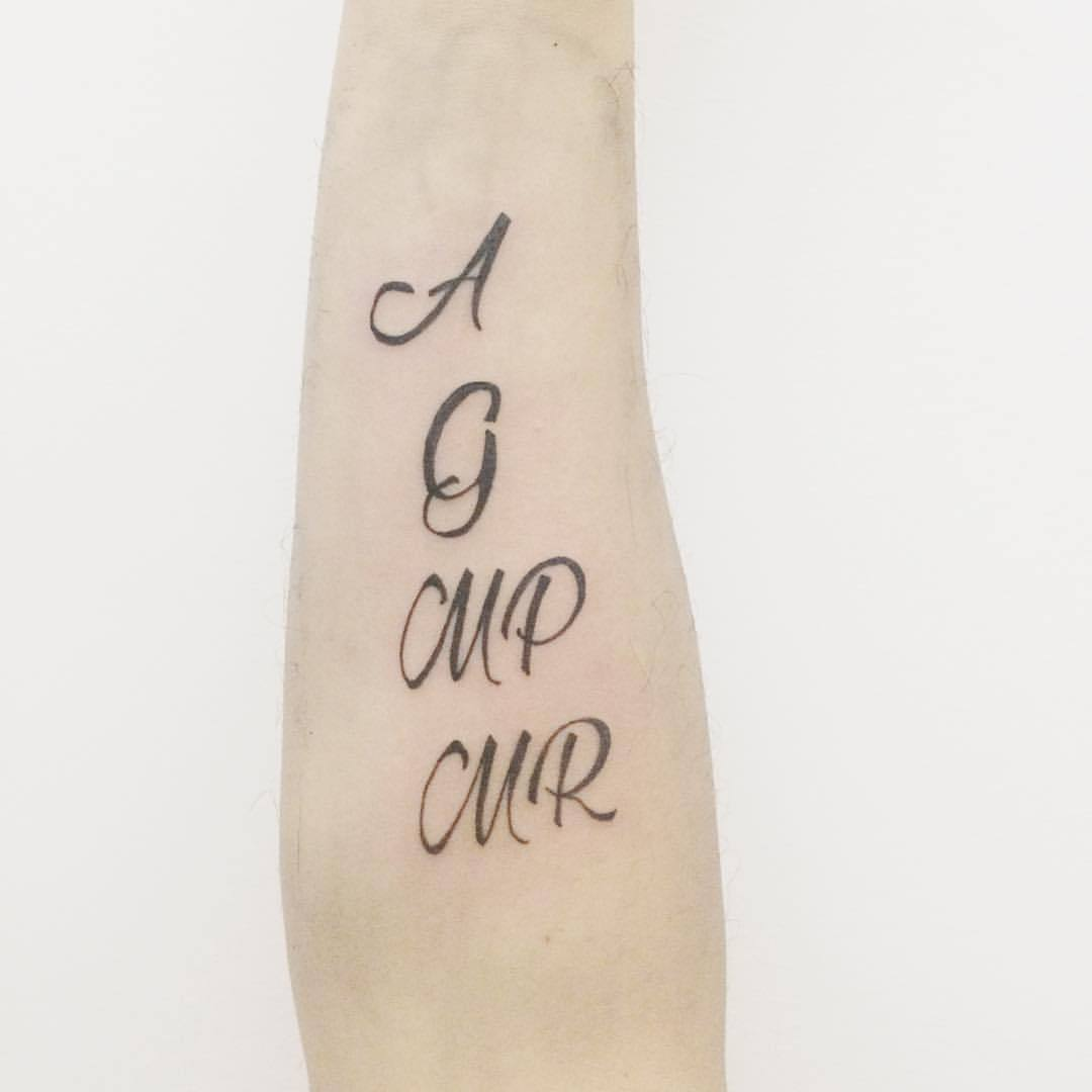 Love Lettering Tattoo Designs