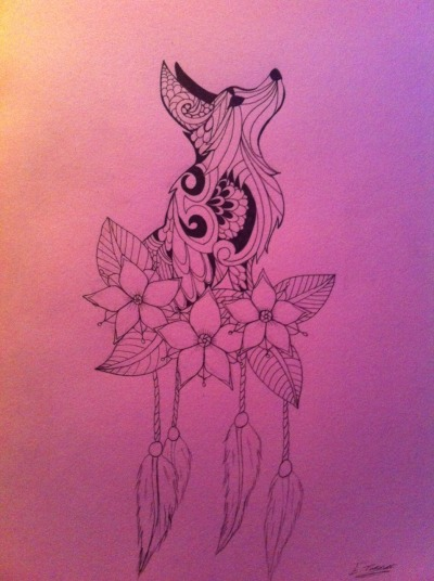 flower drawing tumblr
