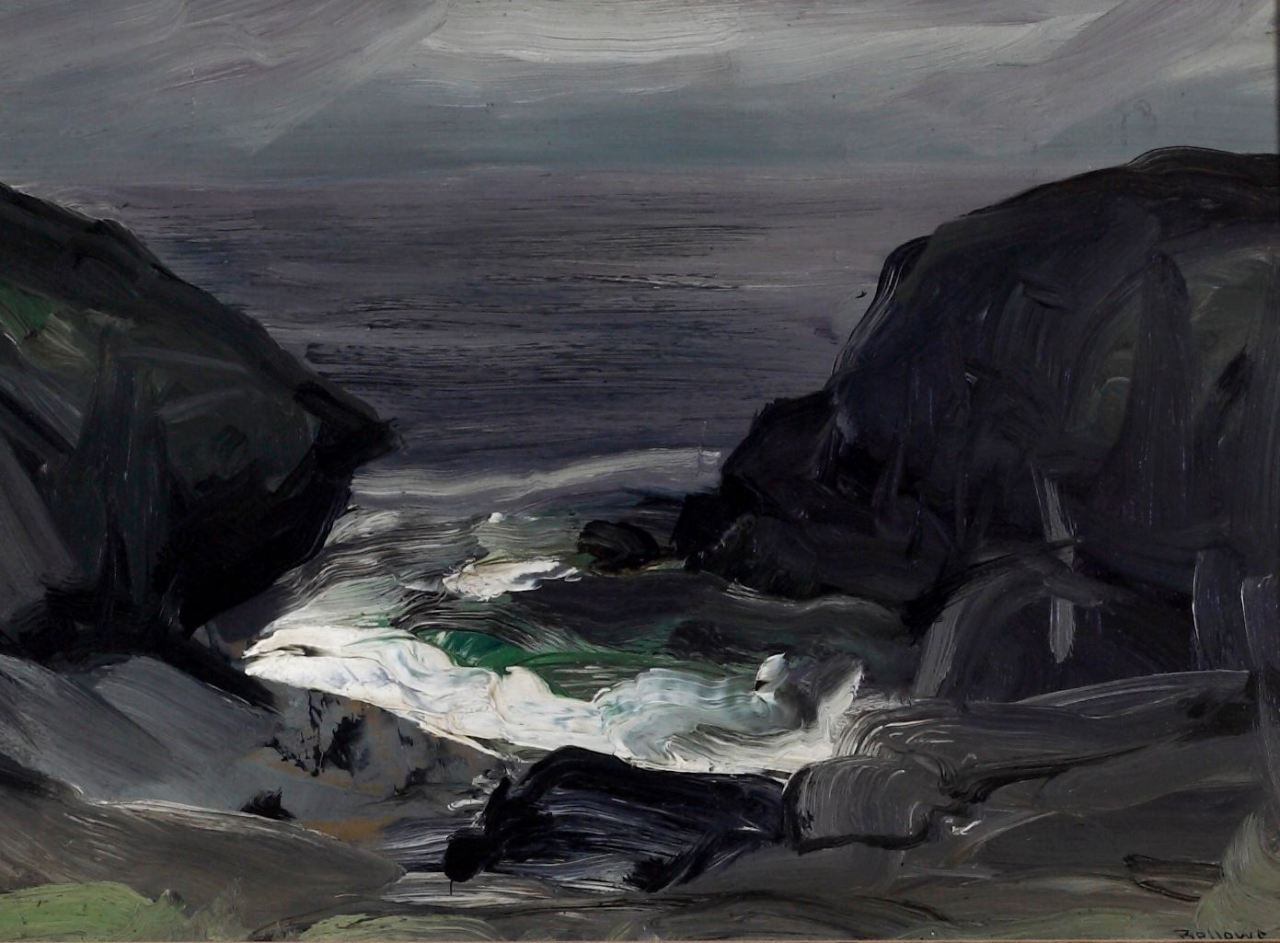 George Wesley Bellows (1882-1925) The Coming Storm, 1911Albrecht-Kemper Museum of Art
