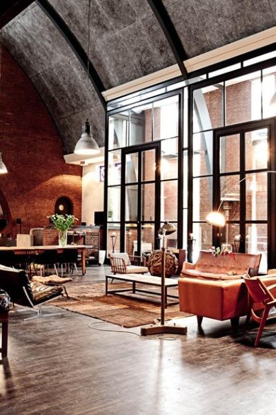 New York Loft Apartment Design Ideas