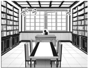 tsuzura kakegurui mary anime twin saotome standing kirari scene mean