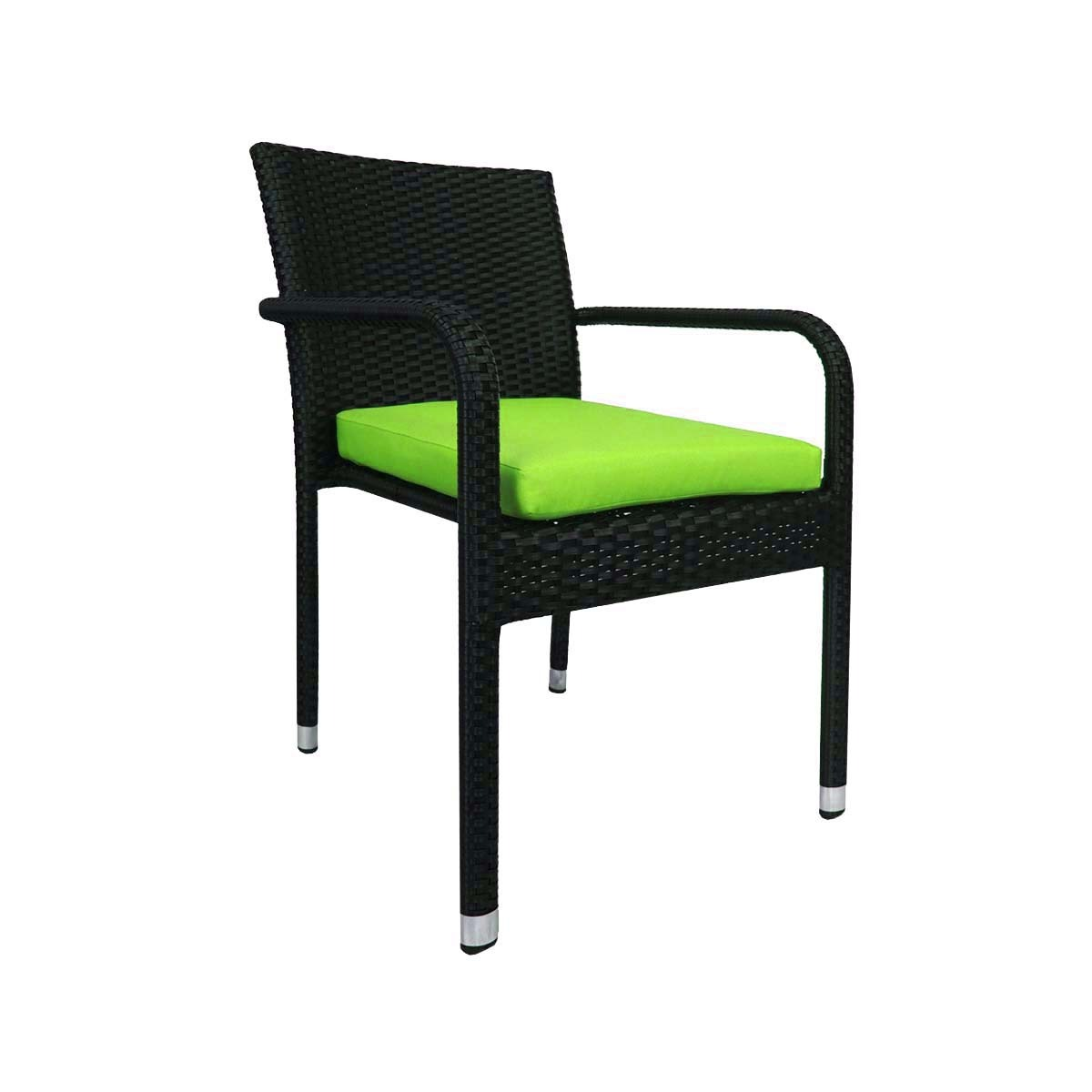 banquet chair covers singapore portable wobble arena living balcony bistro set green lazada