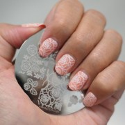 champagne roses - matte peachy-beige