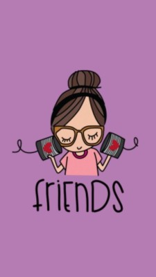Best Friends Wallpaper Zendha