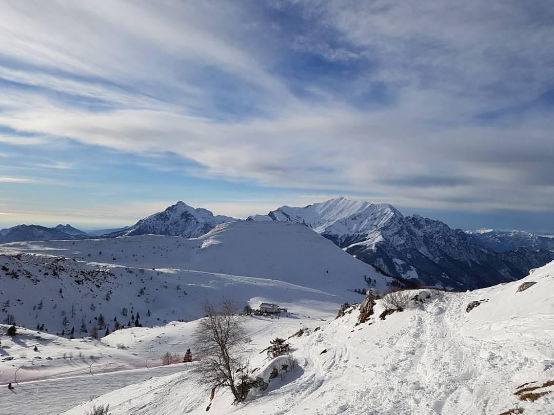 Juste1911  First day of ski  Piani di Bobbio