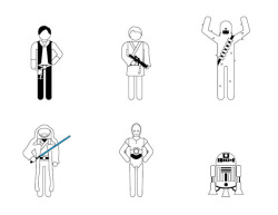 TieFighters — Star Wars: Episode IV Character Isotypes