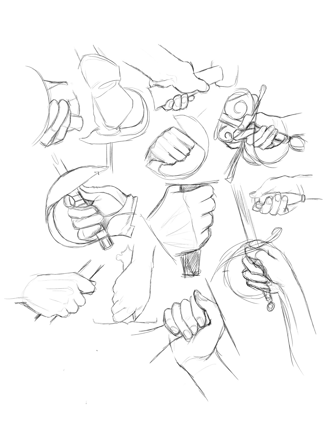 How To Draw Hand Holding : holding, Hands, Holding, Learn