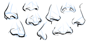 nose draw noses drawing reference step references button beginners drawings angle guidelines easy google anime using tutorial any there practicing