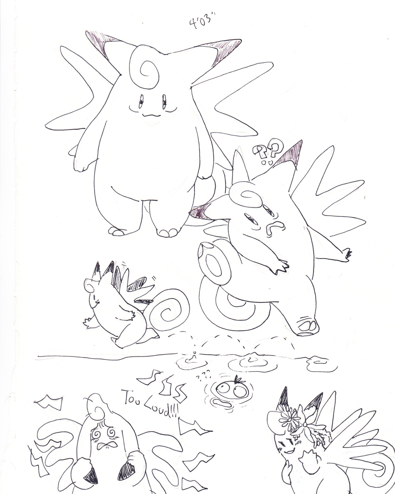 psmd-doodle-dump — coming up with ideas for why a big ass