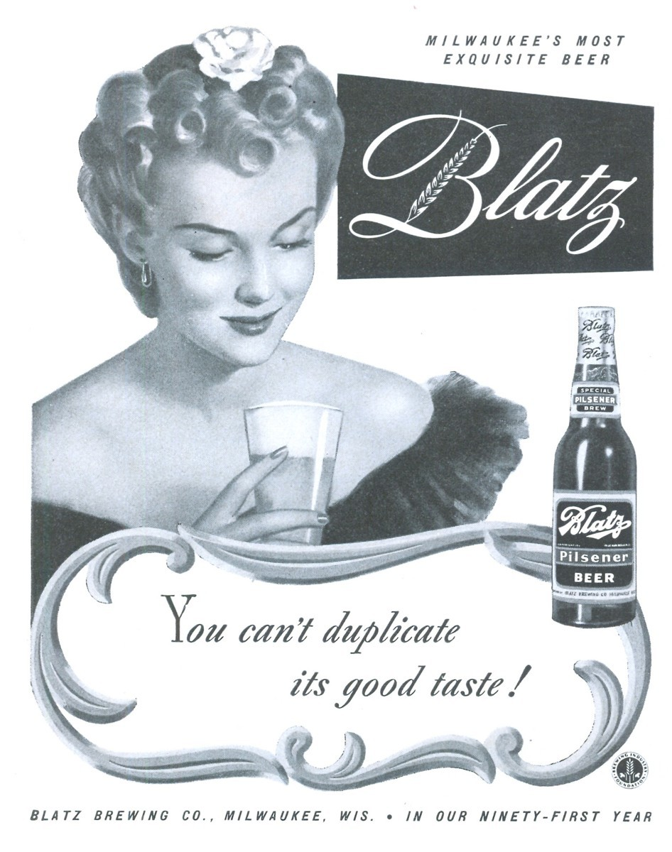 Blatz - published in Life - October 5, 1942