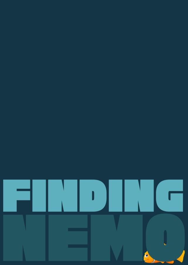 Day 212: Finding Nemo. #amovieposteraday