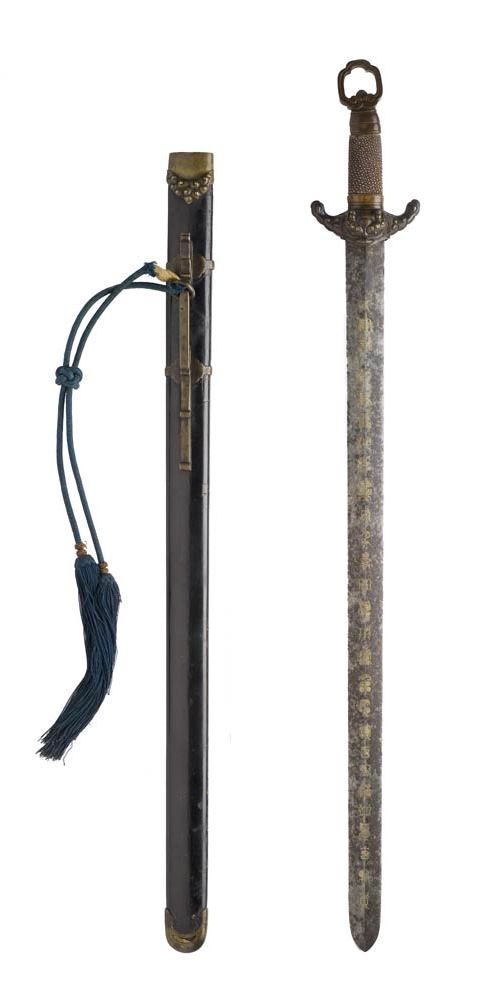 "Deluxe 23/"" Chrome Finish Ninja Katana Accessory Toy Samurai Sword Tachi Dagger"