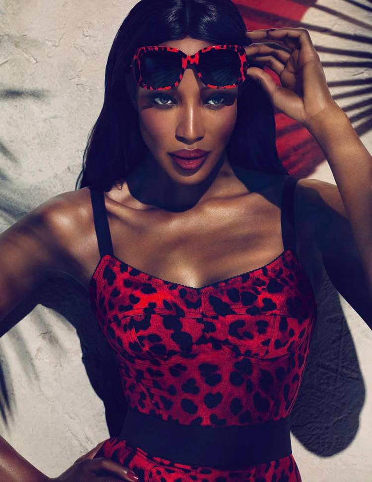 Naomi Campbell Jamaican