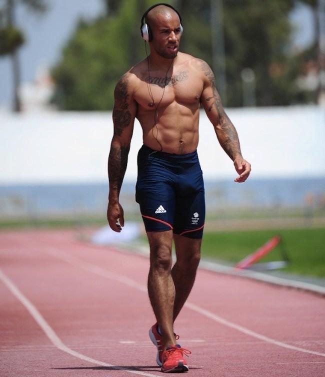 James Ellington atletas pelados nus