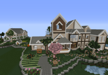 minecraft houses whimsical little
