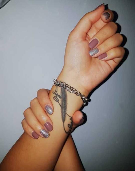 Diseños De Uñas Acrilicas Tumblr Negras Decoración De Uñas