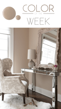 Color of the Week: Studio Taupe Soft and... | Design Meet ...