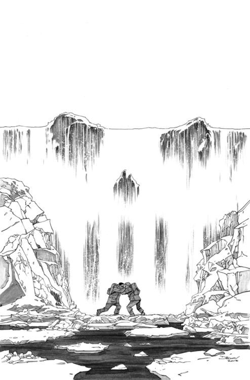 A.R.C.H.I.V.E., dshalv: Cover artwork for PUNISHER #12 by