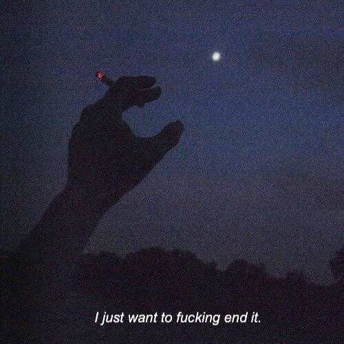 self destruction tumblr