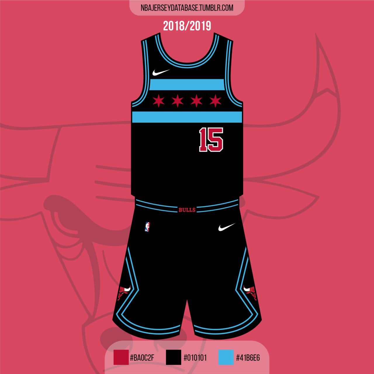 Chicago Bulls City Jersey 2018-2019