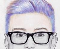 tyler oakley's hair colors   Tumblr