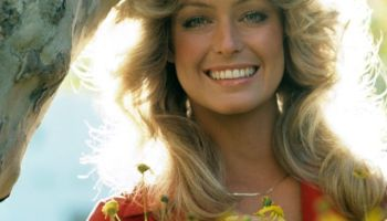 577d1a4b3d660e The story behind the iconic Farrah Fawcett red swimsuit poster ...