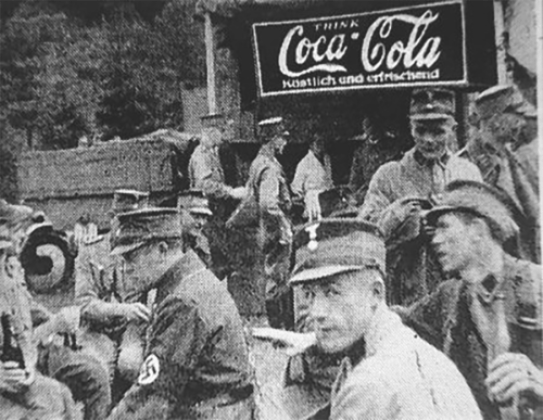 Coca-cola in WW2 in Germany and US