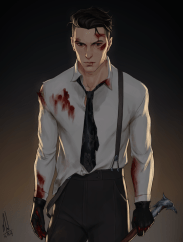 Kaz fucking Brekker! Just read one hell of a good scene in Crooked Kingdom today and I couldn't wait to draw it. I had to draw it today! Kaz just reached a new level of wow! (ps: I'm not done reading the book yet so please, don't put spoilers in the...