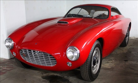 """layoffthepabst: """" 1953 Bosley GT Mark 1, courtesy of MSNBC Autos and Peterson Automotive Museum. Thought this was another Ferrari at first glance """""""