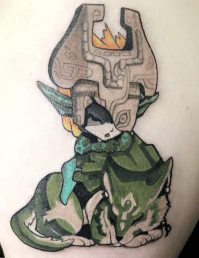 Midna Tattoo Tumblr