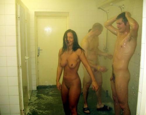 coed showers tumblr