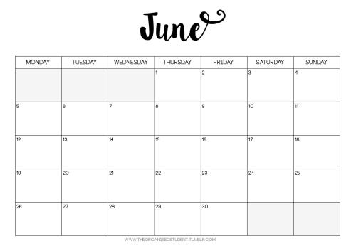 Calendar Printables Weekly Tumblr : Planner printables to organize your entire life plum