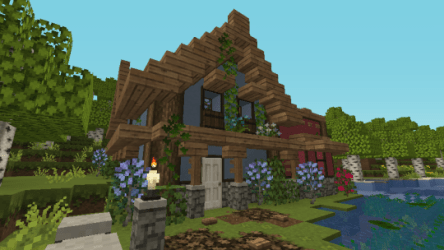 Cozy Cute Minecraft Cottage 1