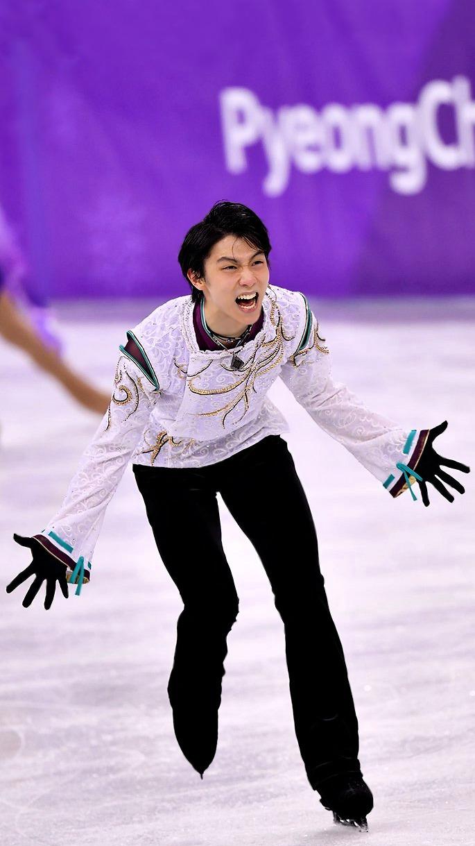 Yuzuru Hanyu | Phone Wallpapers | Olympics 2018