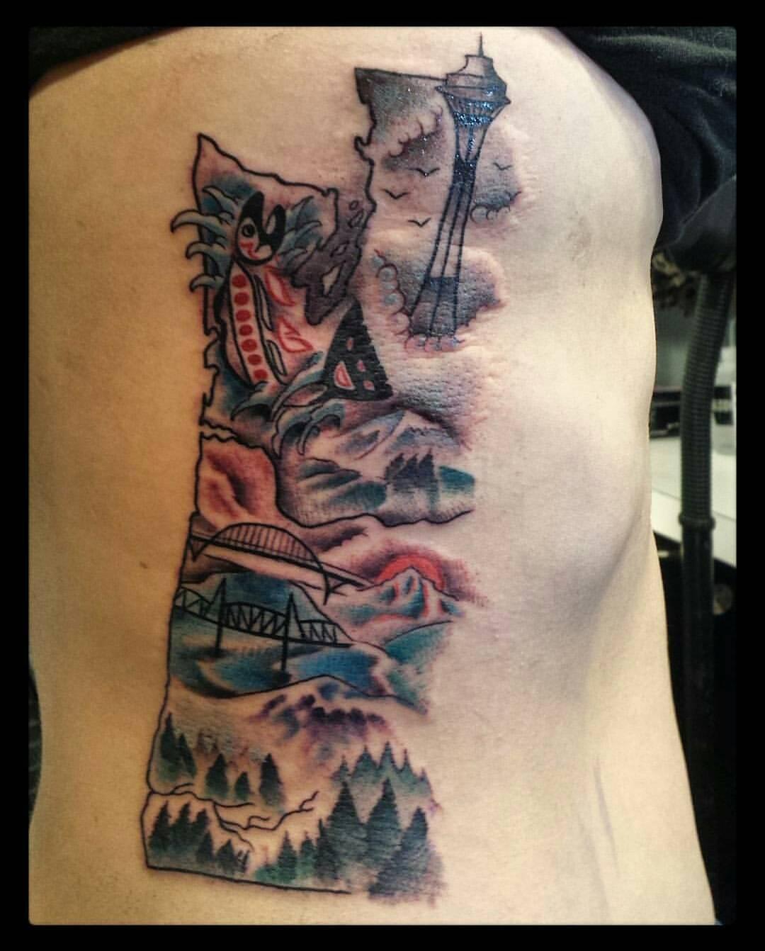 hidden rose tattoo pacific