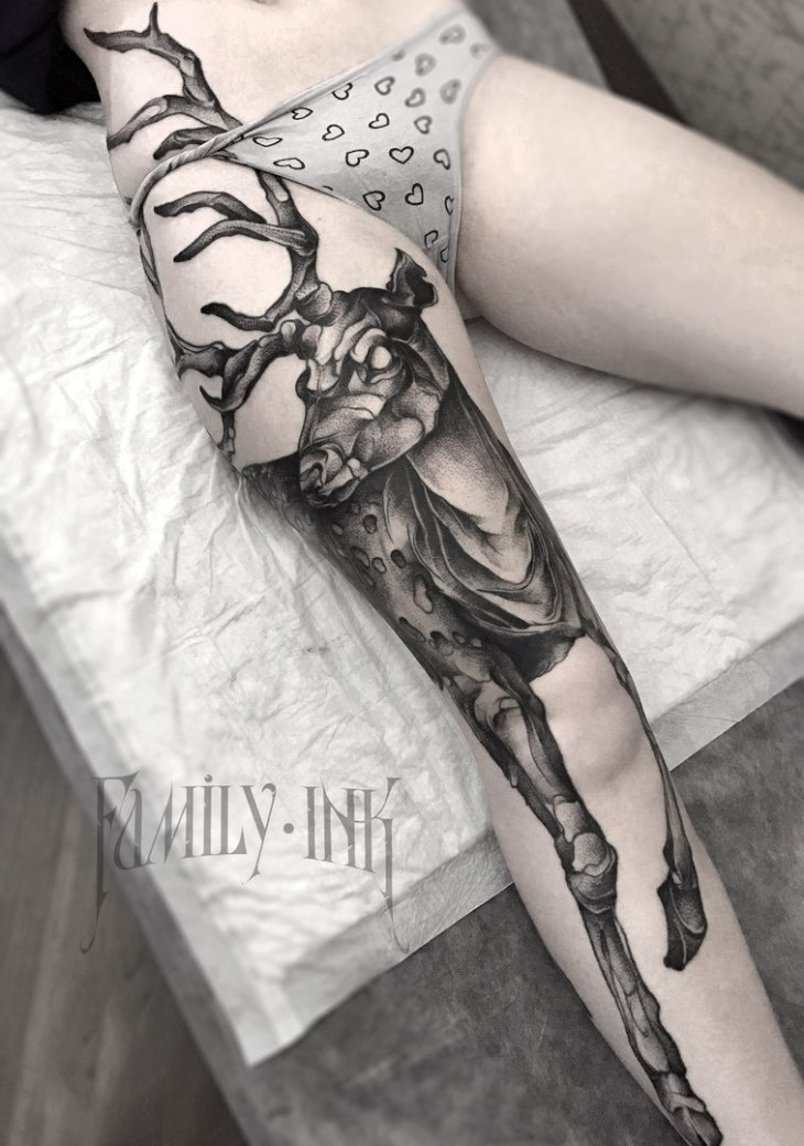 Wyrd bið full aræd tattoo