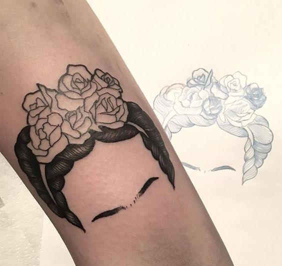 Frida Kahlo Tattoos Pinterest