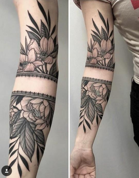 Tatuaje Flores Tumblr