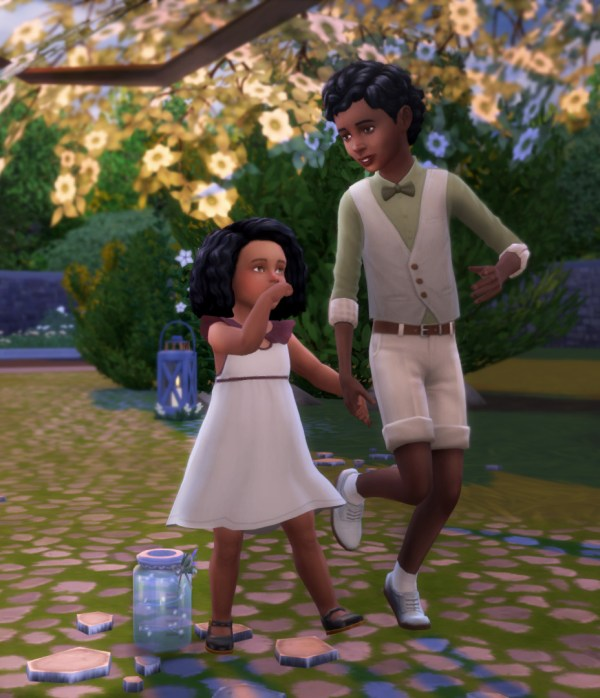 Mod 4 Sims Child Romance - Year of Clean Water