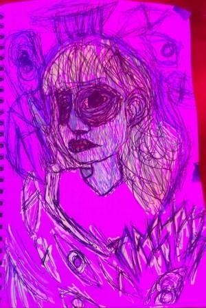 Simple Drawings Neon 5