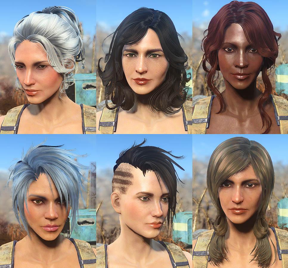 Female Hairstyles Skyrim