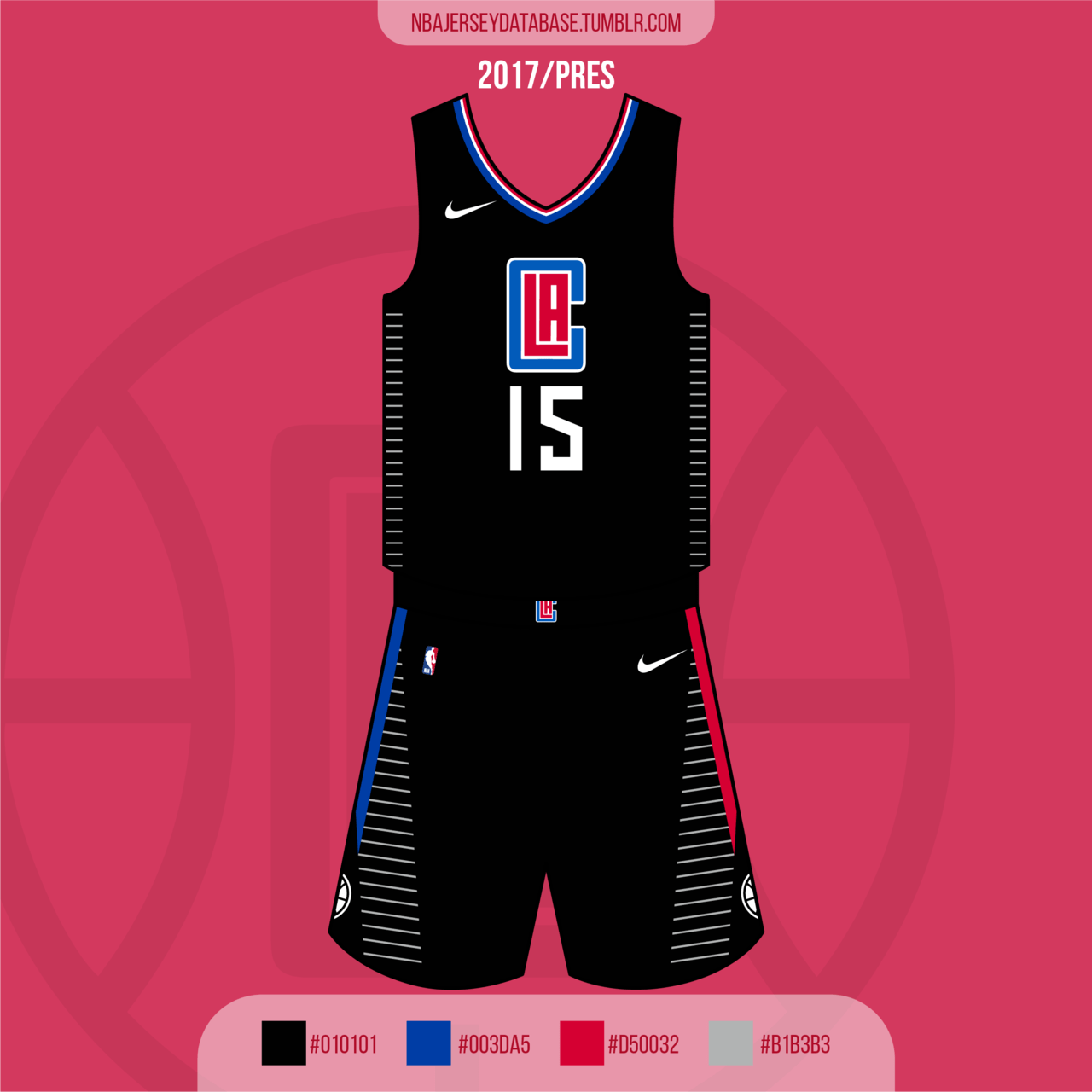 Los Angeles Clippers Statement Jersey 2017-Present