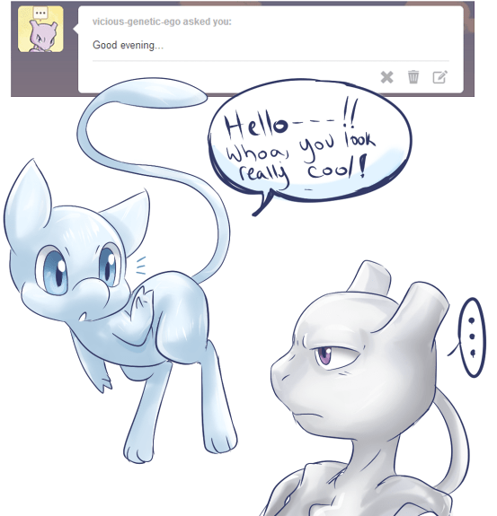 Ask - Shiny Mew
