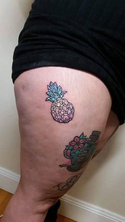 Por Carla Evelyn Hecho En Frontyard Tattoo Mount Tatuajes