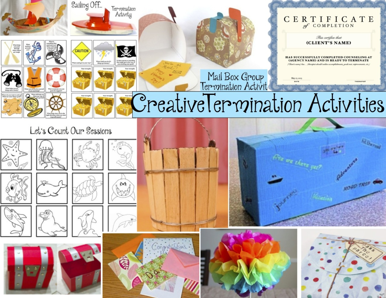 Creative Termination Activities More